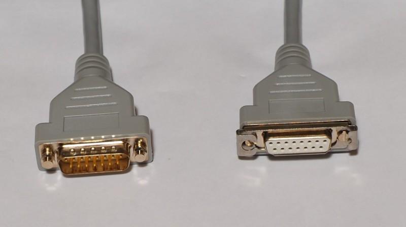 1M AUI drop cable