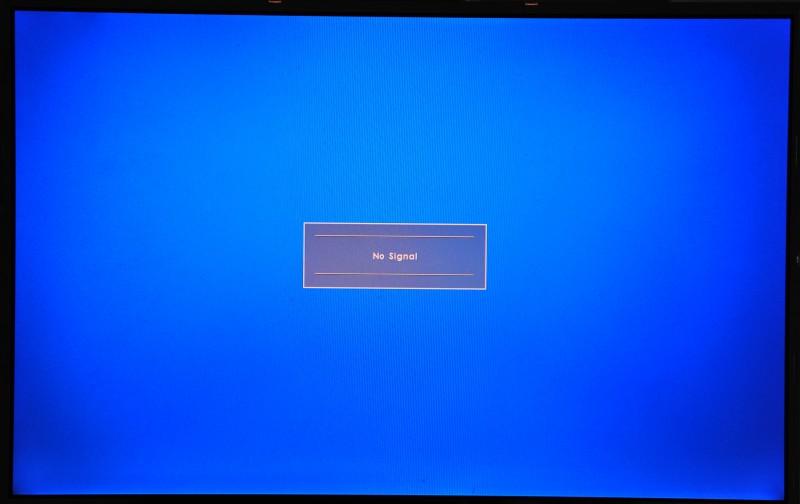 PCB800099's No signal OSD