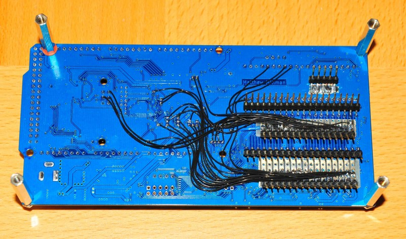 8OD.1 logic analyser connections