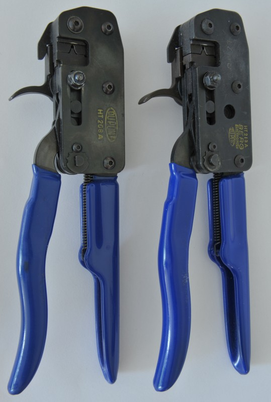 DuPont HT-208A and HT-213A crimp tools