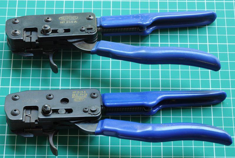 DuPont HT-208A and HT-213A crimp tools
