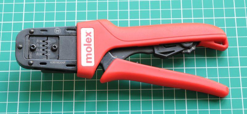 Molex KK100 crimp tool