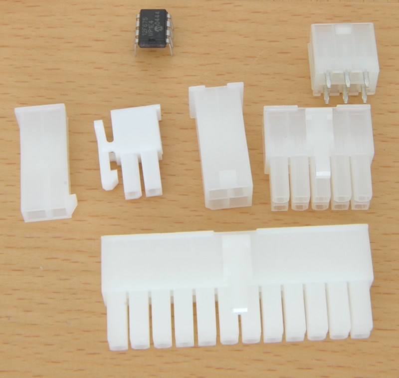 Molex Mini-Fir JR connectors