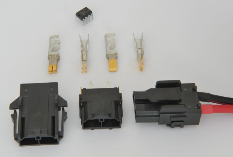 Mini-Fit Sr connectors