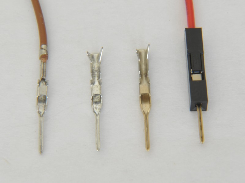 Common Wire To Board Wire To Wire Connectors And Crimp