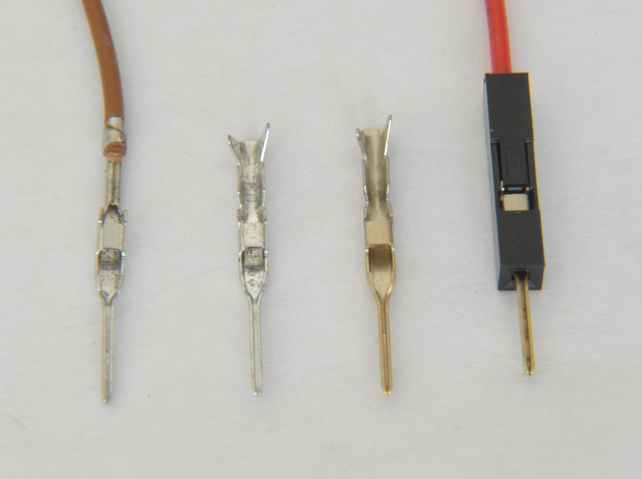 Common wire-to-board, wire-to-wire connectors, and crimp tools ...