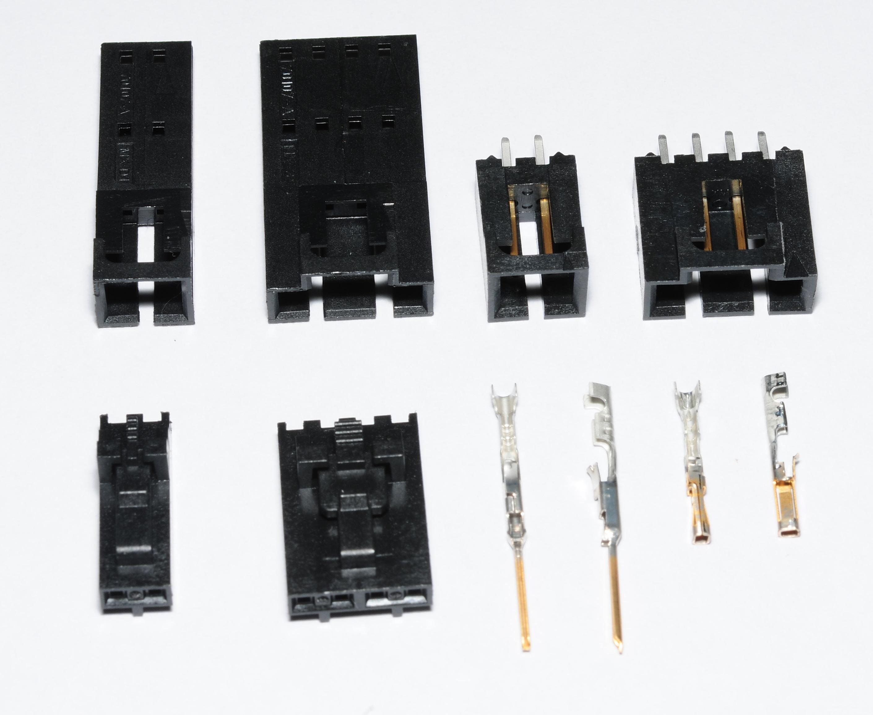 Molex SL terminals and connectors