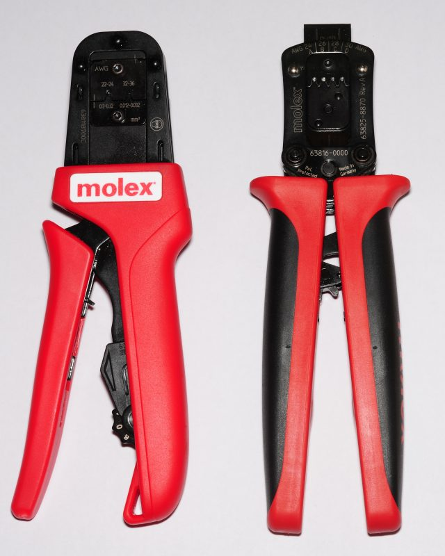 Molex SL crimp tools