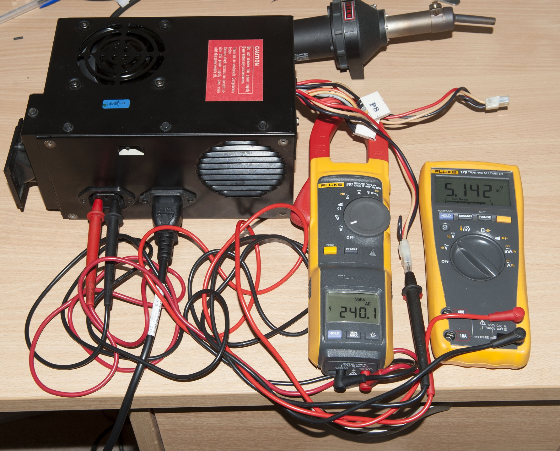 Converting An Ibm Pc 5150 Model A Black 115v Power Supply To 230v Using Transformer Step Down 12v Electrical Engineering Converted