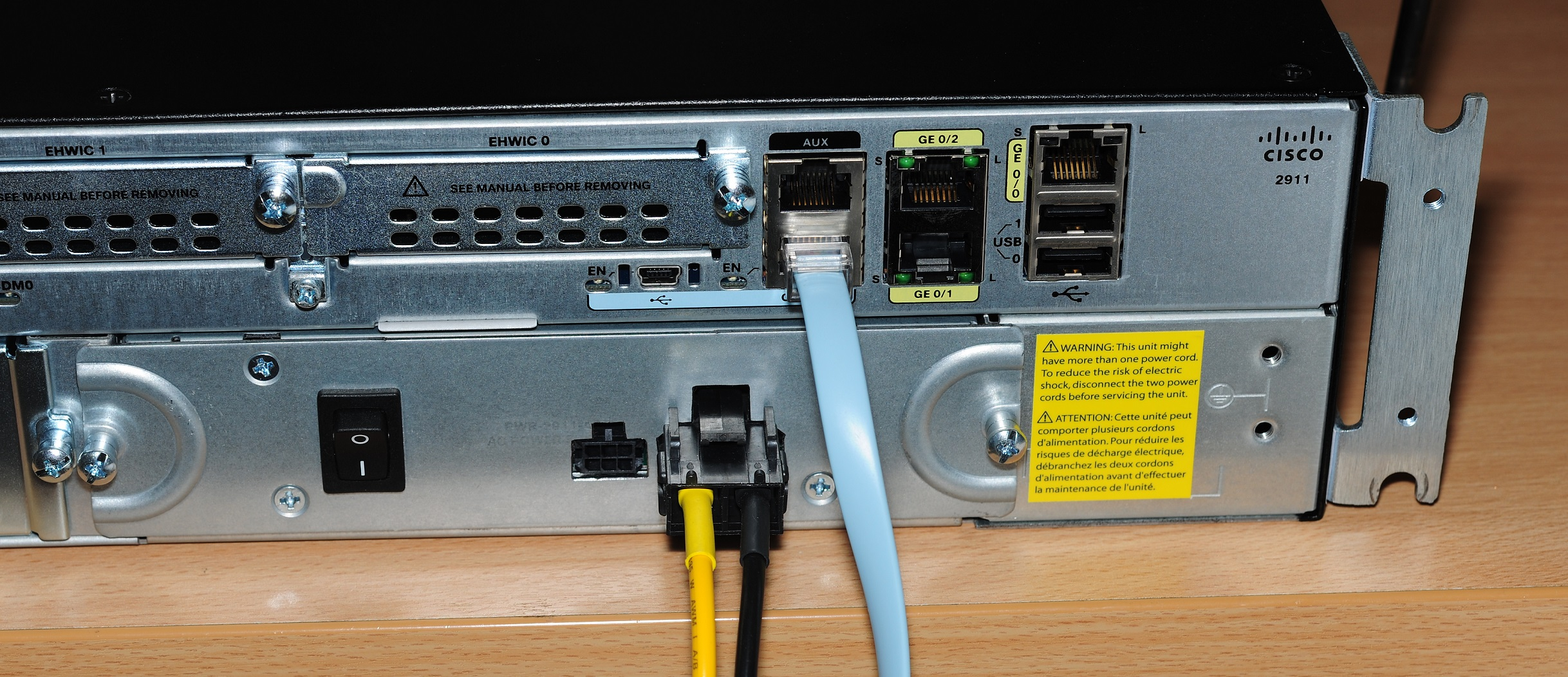 Silencing a Cisco 2911 router for home use   Matt's Tech Pages